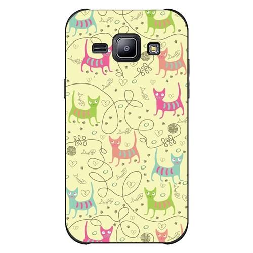 Cover&Case Samsung Galaxy J2 Silikon Tasarım Telefon Kılıfı Ccs02-J02-0244