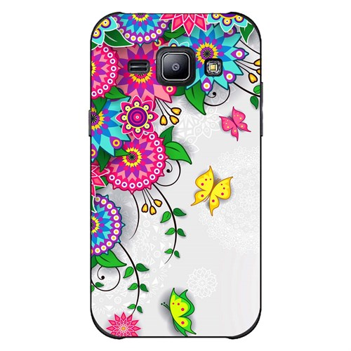 Cover&Case Samsung Galaxy J2 Silikon Tasarım Telefon Kılıfı Ccs02-J02-0254