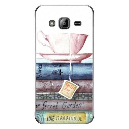 Cover&Case Samsung Galaxy J3 Silikon Tasarım Telefon Kılıfı Ccs02-J03-0014