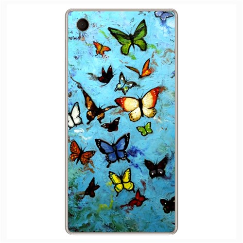 Cover&Case Sony Xperia M4 Silikon Tasarım Telefon Kılıfı Ccs03-Xm02-0136