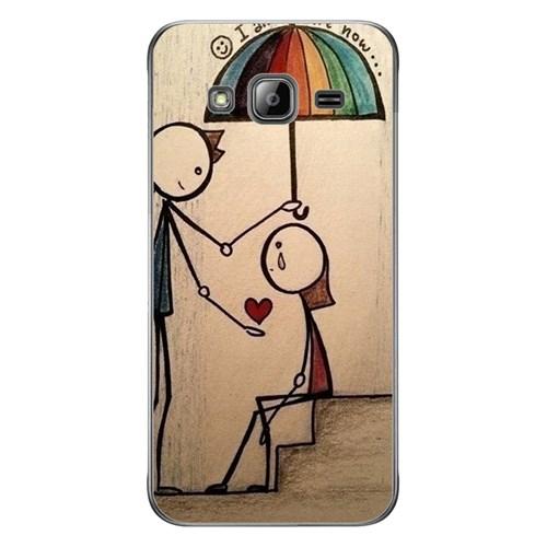 Cover&Case Samsung Galaxy J3 Silikon Tasarım Telefon Kılıfı Ccs02-J03-0046