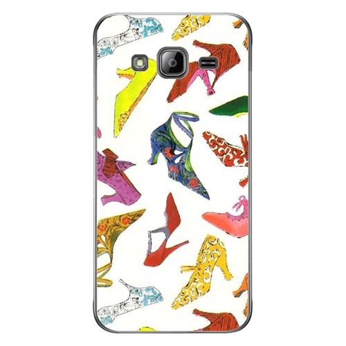 Cover&Case Samsung Galaxy J3 Silikon Tasarım Telefon Kılıfı Ccs02-J03-0095