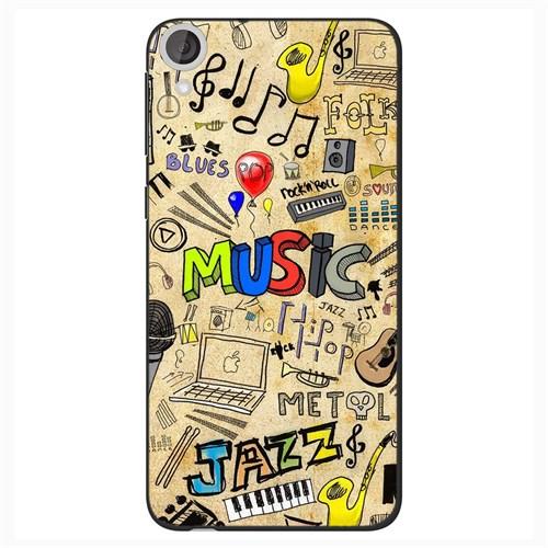 Cover&Case Htc Desire 820 Silikon Tasarım Telefon Kılıfı Ccs05-D04-0228