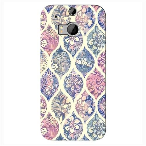 Cover&Case Htc One M8 Silikon Tasarım Telefon Kılıfı Ccs05-O02-0055