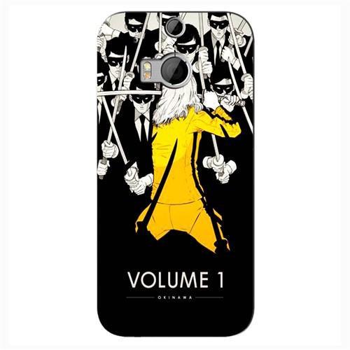 Cover&Case Htc One M8 Silikon Tasarım Telefon Kılıfı Ccs05-O02-0109