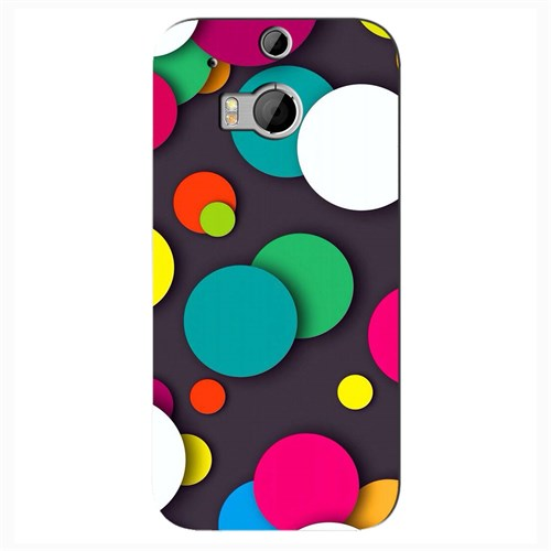 Cover&Case Htc One M8 Silikon Tasarım Telefon Kılıfı Ccs05-O02-0157