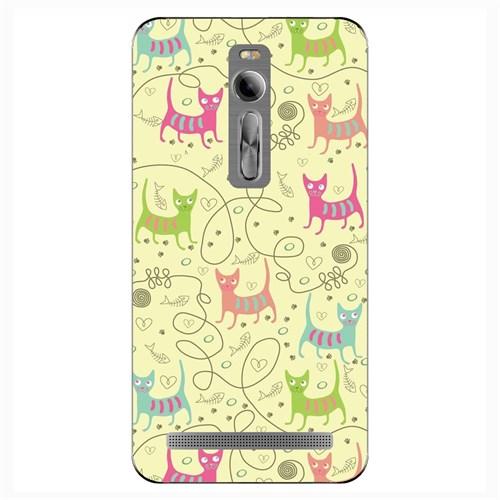 Cover&Case Asus Zenfone 2 Silikon Tasarım Telefon Kılıfı Ccs08-Z01-0244