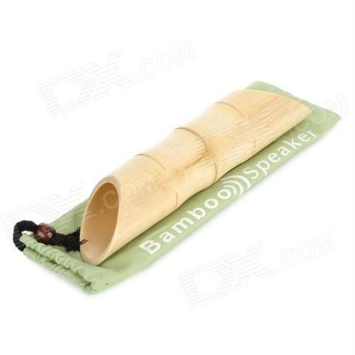 Buffer Bambu Akustik Iphone Ses Yükseltici