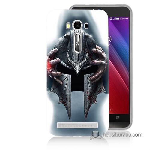 Teknomeg Asus Zenfone Laser 5.5 Kılıf Kapak Assassins Creed Baskılı Silikon