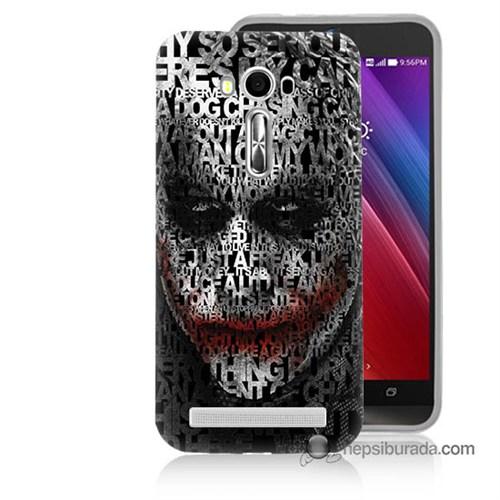 Teknomeg Asus Zenfone Laser 5.0 Kapak Kılıf Joker Baskılı Silikon