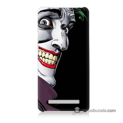 Teknomeg Asus Zenfone 5 Kapak Kılıf Joker Baskılı Silikon