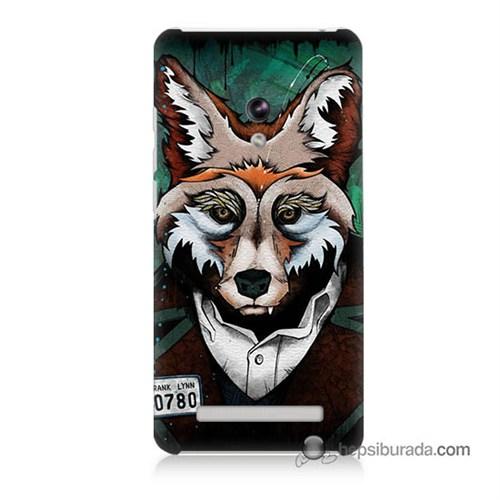 Teknomeg Asus Zenfone 5 Lite Kılıf Kapak Bad Wolf Baskılı Silikon