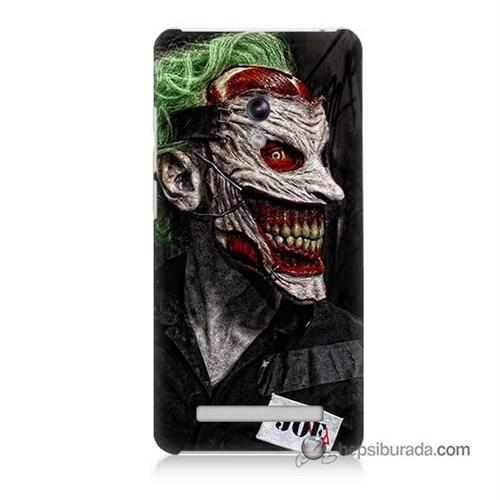 Teknomeg Asus Zenfone 5 Lite Kapak Kılıf Joker Joe Baskılı Silikon