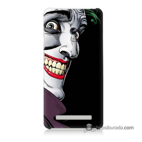 Teknomeg Asus Zenfone 5 Lite Kapak Kılıf Joker Baskılı Silikon