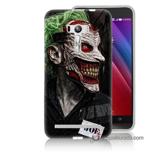 Teknomeg Asus Zenfone Selfie Kapak Kılıf Joker Joe Baskılı Silikon