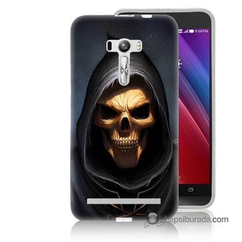 Teknomeg Asus Zenfone Selfie Kılıf Kapak Ölüm Meleği Baskılı Silikon