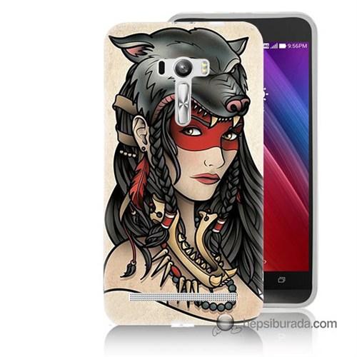 Teknomeg Asus Zenfone Selfie Kapak Kılıf Pocahontas Baskılı Silikon