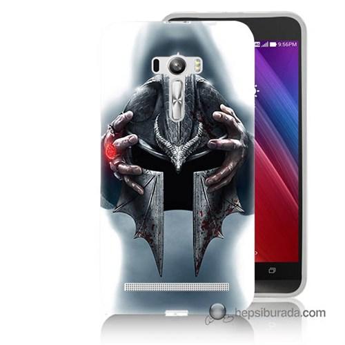Teknomeg Asus Zenfone Selfie Kılıf Kapak Assassins Creed Baskılı Silikon