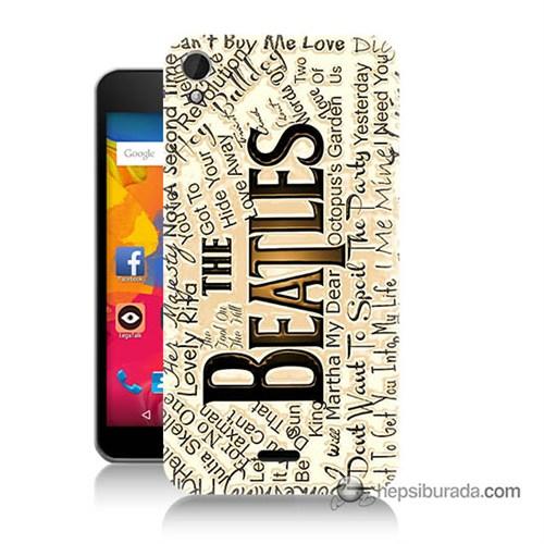 Teknomeg Casper Via V3 Kılıf Kapak The Beatles Baskılı Silikon