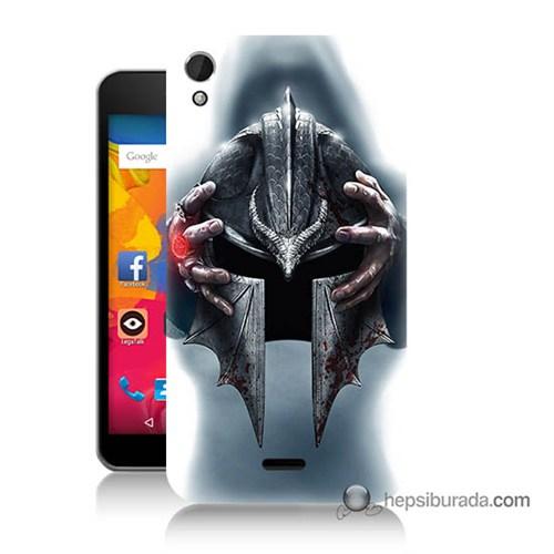 Teknomeg Casper Via V3 Kılıf Kapak Assassins Creed Baskılı Silikon