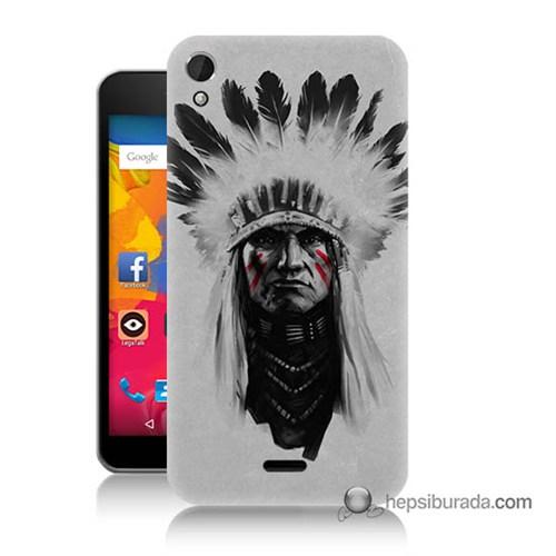 Teknomeg Casper Via V3 Kılıf Kapak Geronimo Baskılı Silikon