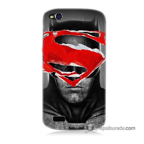 Teknomeg General Mobile Discovery Kapak Kılıf Batman Vs Superman Baskılı Silikon