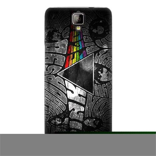 Teknomeg General Mobile Discovery 2 Kapak Kılıf Pink Floyd Baskılı Silikon