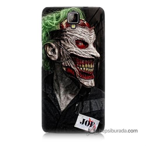 Teknomeg General Mobile Discovery 2 Kapak Kılıf Joker Joe Baskılı Silikon