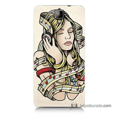 Teknomeg General Mobile Discovery 2 Kapak Kılıf Müzik Aşkı Baskılı Silikon