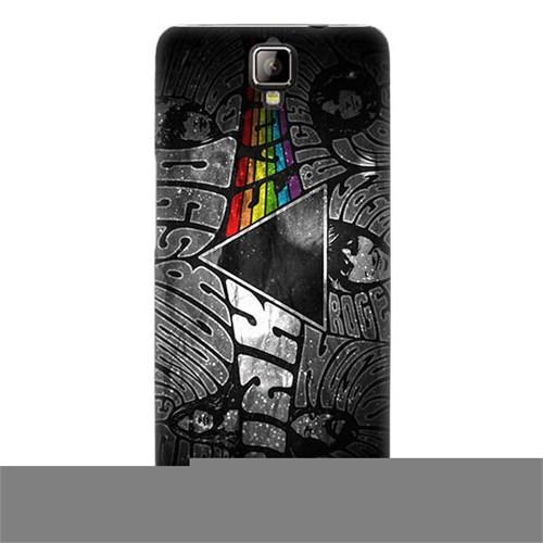 Teknomeg General Mobile Discovery 2 Plus Kapak Kılıf Pink Floyd Baskılı Silikon