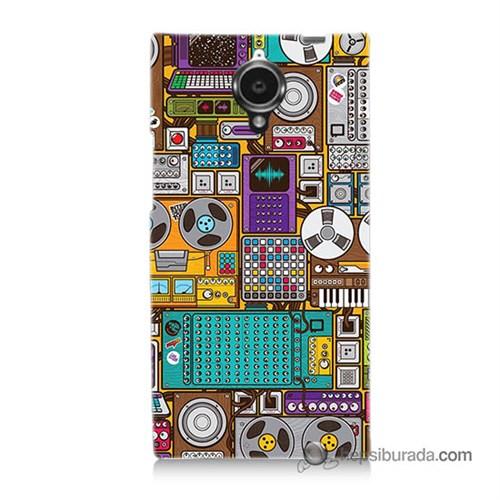 Teknomeg General Mobile Discovery Elite Kılıf Kapak Teknoloji Baskılı Silikon