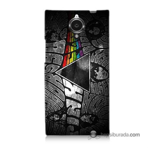 Teknomeg General Mobile Discovery Elite Kapak Kılıf Pink Floyd Baskılı Silikon
