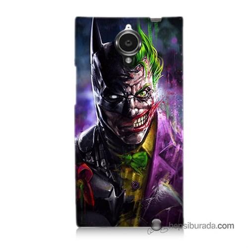 Teknomeg General Mobile Discovery Elite Kılıf Kapak Batman Vs Joker Baskılı Silikon