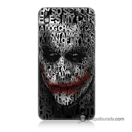 Teknomeg Htc Desire 816 Kapak Kılıf Joker Baskılı Silikon