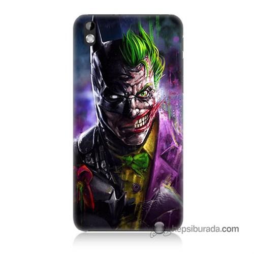 Teknomeg Htc Desire 816 Kılıf Kapak Batman Vs Joker Baskılı Silikon
