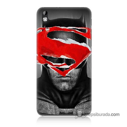 Teknomeg Htc Desire 816 Kapak Kılıf Batman Vs Superman Baskılı Silikon