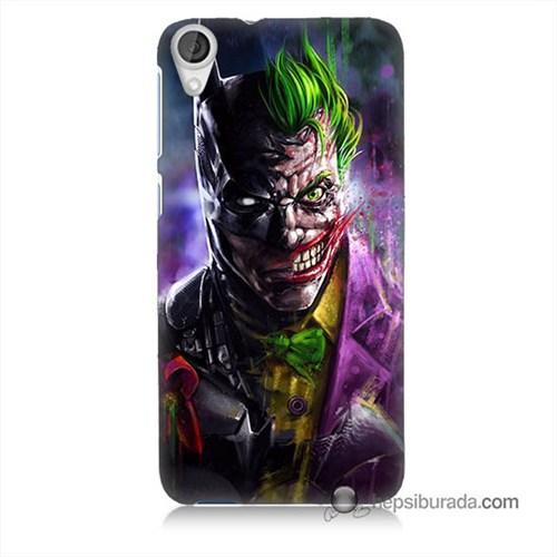 Teknomeg Htc Desire 820 Kılıf Kapak Batman Vs Joker Baskılı Silikon