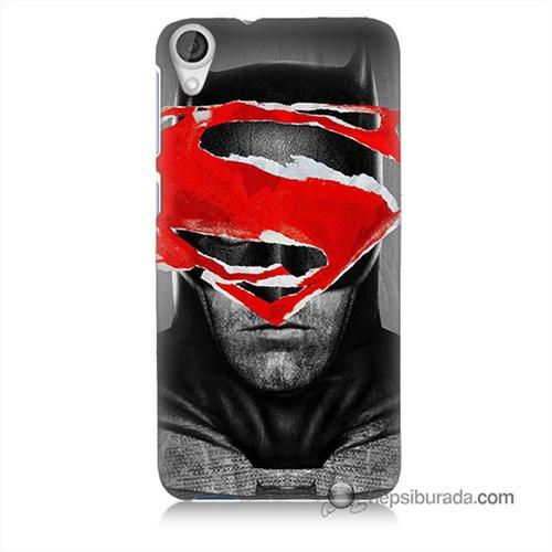 Teknomeg Htc Desire 820 Kapak Kılıf Batman Vs Superman Baskılı Silikon