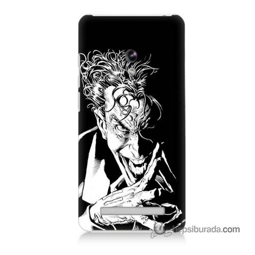 Teknomeg Asus Zenfone 6 Kapak Kılıf Gülen Joker Baskılı Silikon
