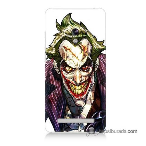 Teknomeg Asus Zenfone 6 Kapak Kılıf Joker Baskılı Silikon