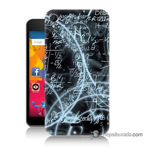 Teknomeg Casper Via V3 Kapak Kılıf Matematik Baskılı Silikon