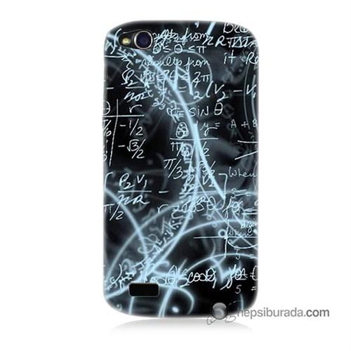 Teknomeg General Mobile Discovery Kapak Kılıf Matematik Baskılı Silikon