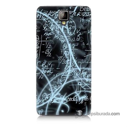 Teknomeg General Mobile Discovery 2 Kapak Kılıf Matematik Baskılı Silikon