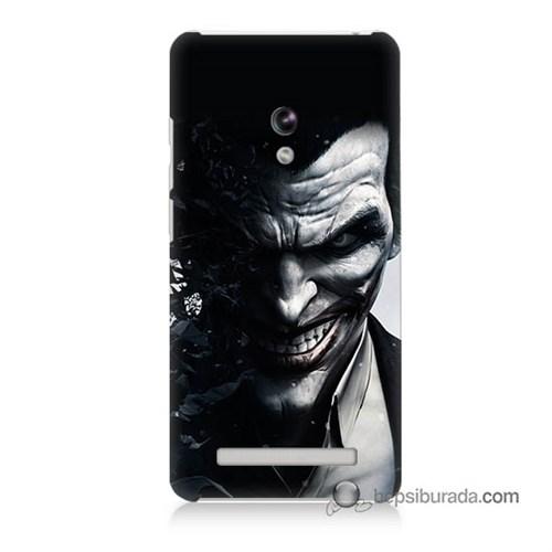 Teknomeg Asus Zenfone 5 Lite Kılıf Kapak Joker Baskılı Silikon