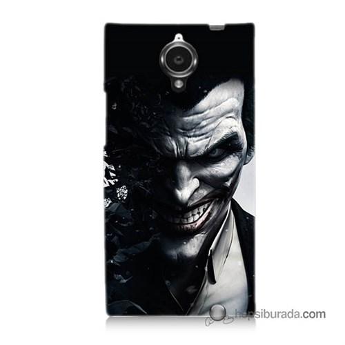 Teknomeg General Mobile Discovery Elite Kılıf Kapak Joker Baskılı Silikon