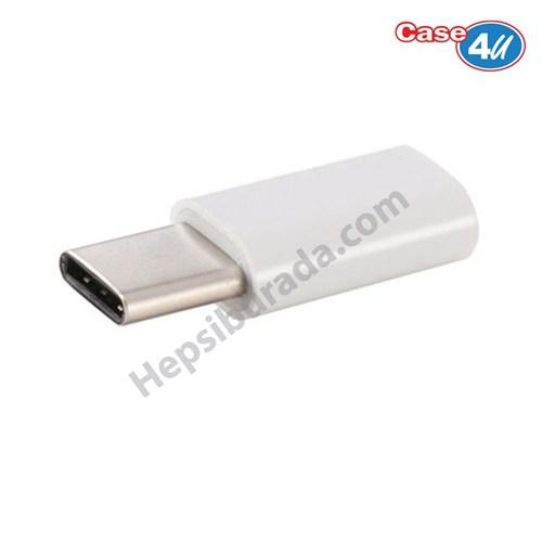 Case 4U USB 3.1 Type-C Çevirici Adaptör (Micro Usb)