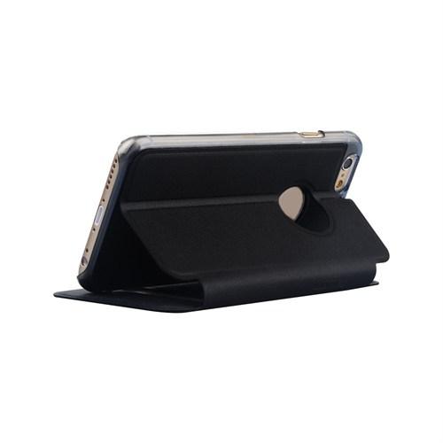 Baseus Kny Apple İphone 6 Gizli Mıknatıslı Çift Pencereli Standlı Kılıf