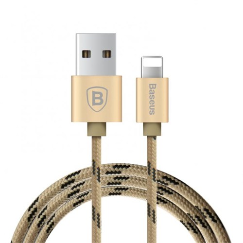 Baseus Kny Apple Lightning Usb Data Kablosu Gold 0.5 Metre