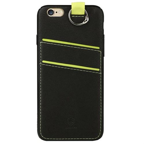 Baseus Kny Apple İphone 6 Plus/6S Plus Lang Serisi Kartlıklı Renkli Arka Kapak