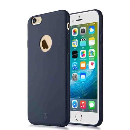 Baseus Kny Apple İphone 6 Plus/6S Plus Mousse Serisi Ultra İnce Mat Silikon Kılıf